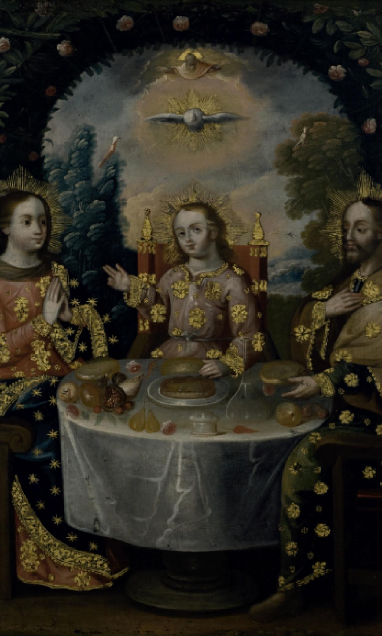 Cena de la Sagrada Familia (1699 - 1799)
