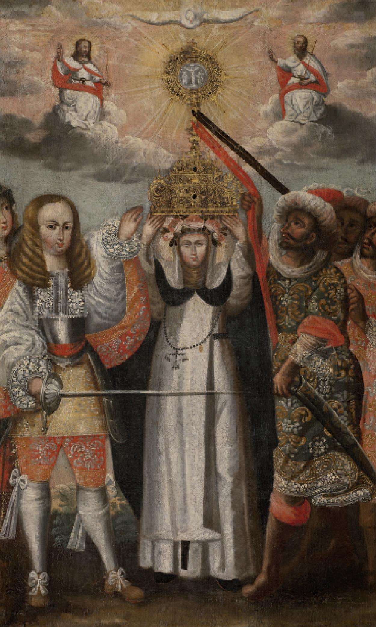 La Defensa de la Eucaristía con Santa Rosa