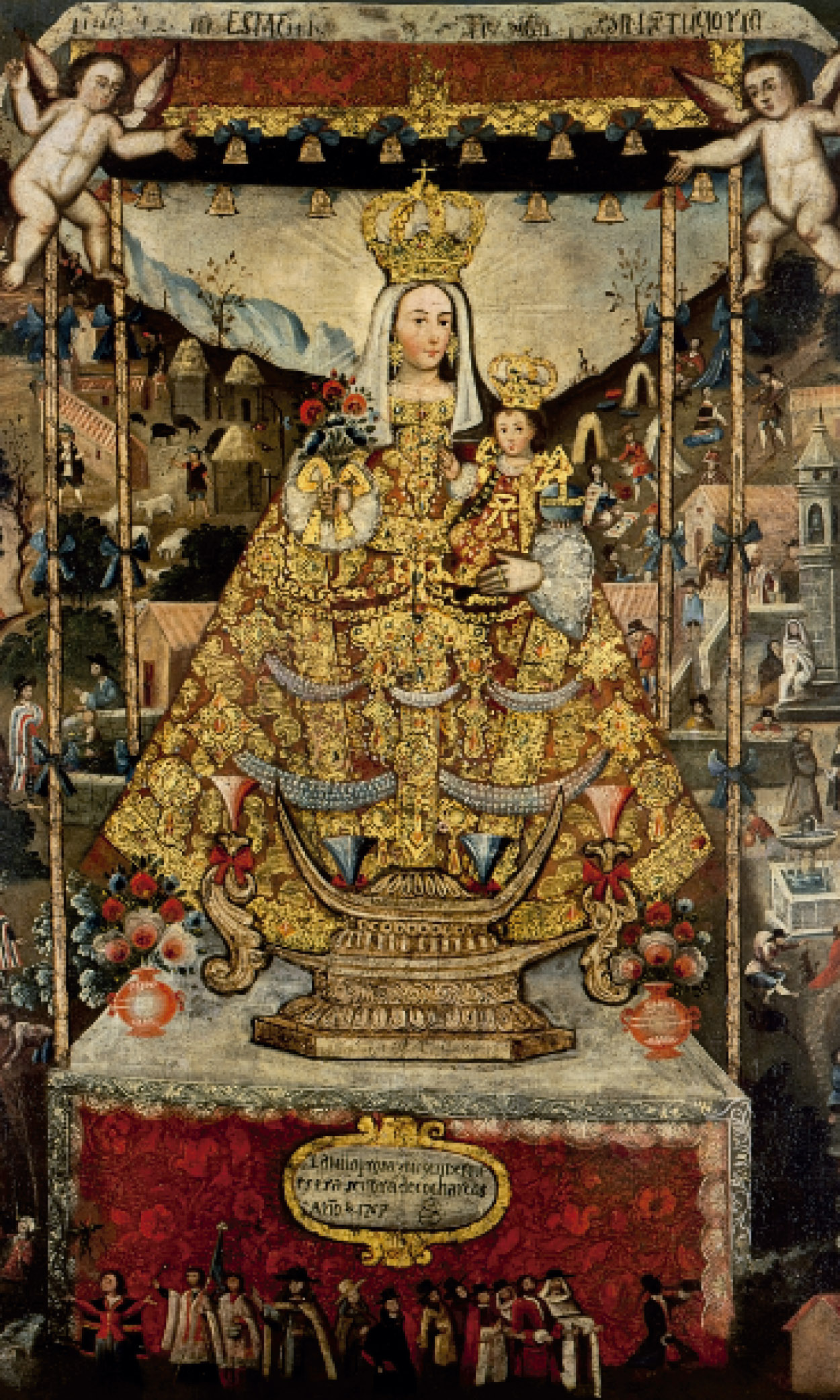 Virgen de Cocharcas (1766)