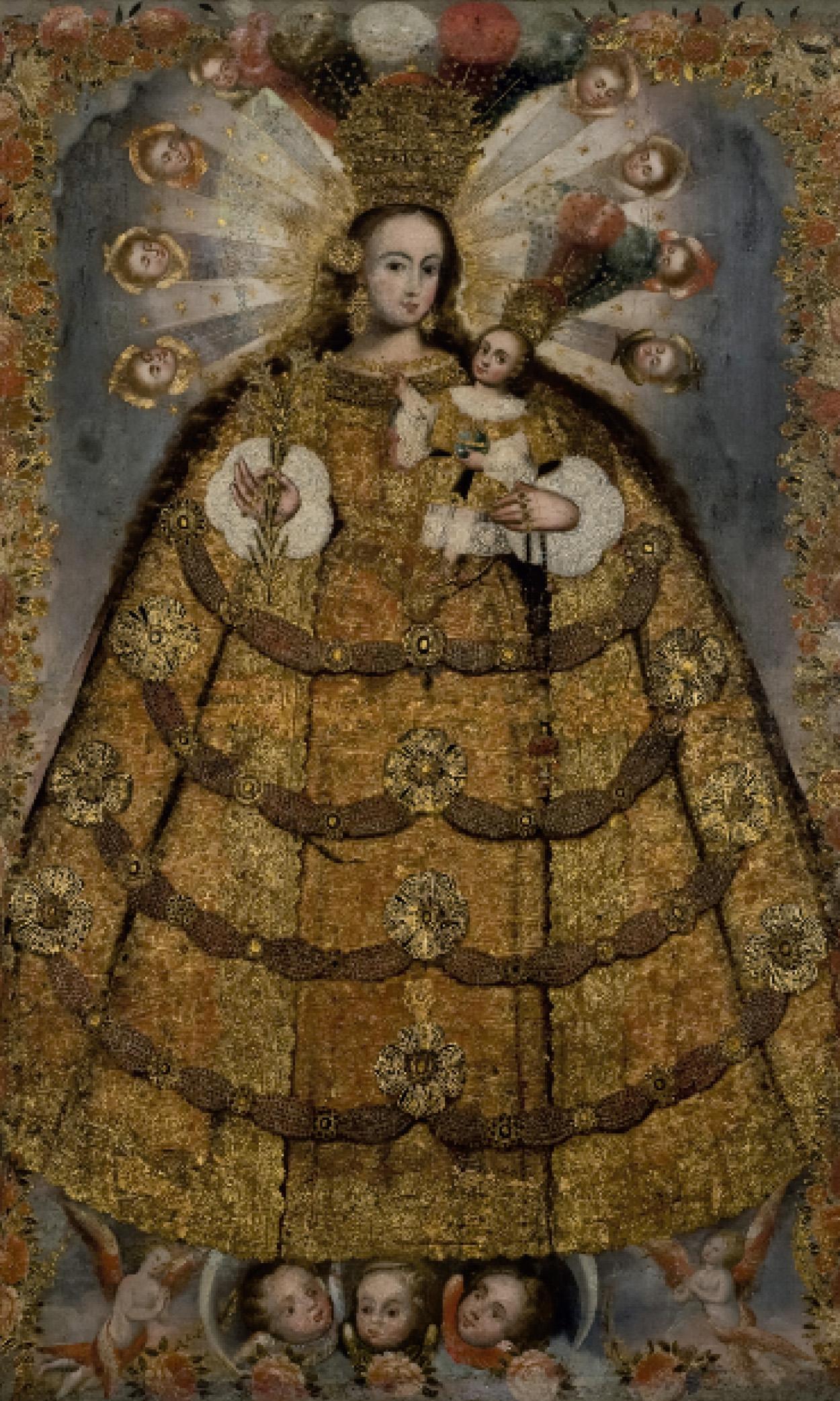 Virgen del Rosario de Pomata (1729 - 1759)