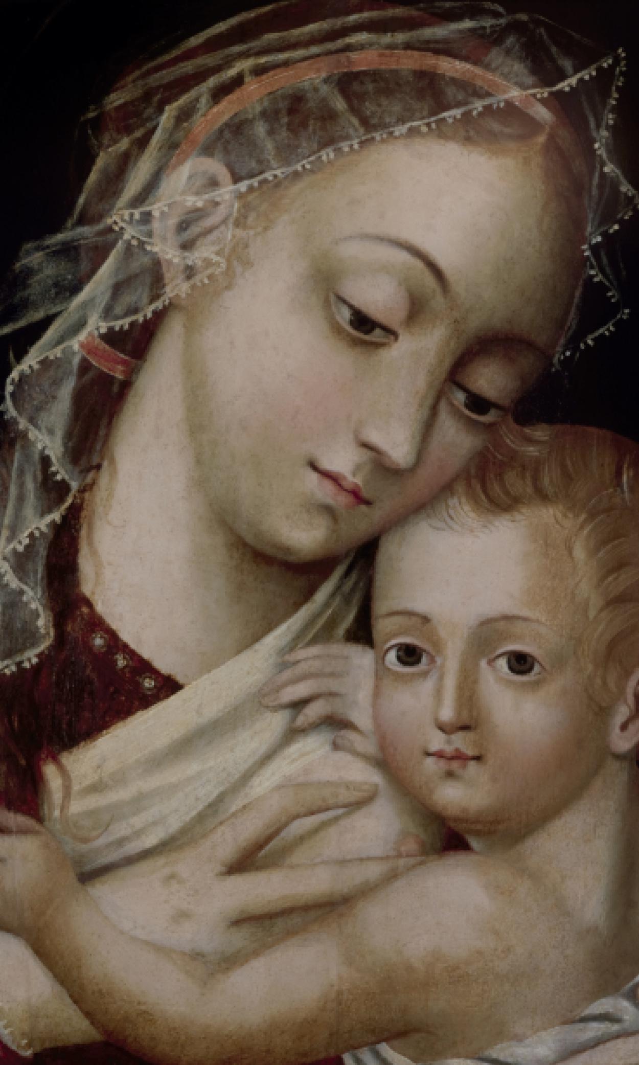 Virgen de la leche (1589 - 1599)
