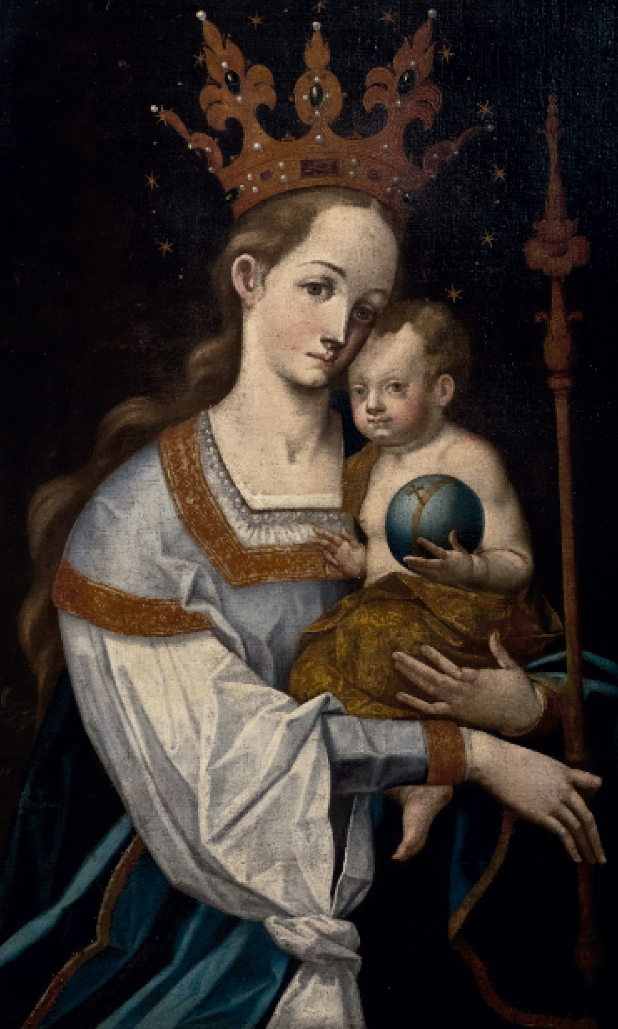 Virgen del Cetro (1595)