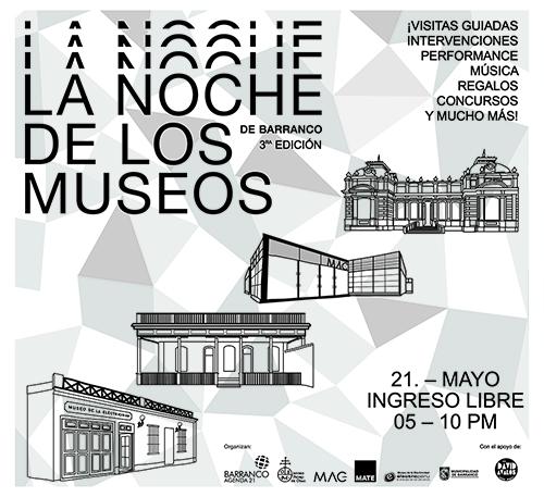 (Español) La Noche de los Museos de Barranco 3era edición